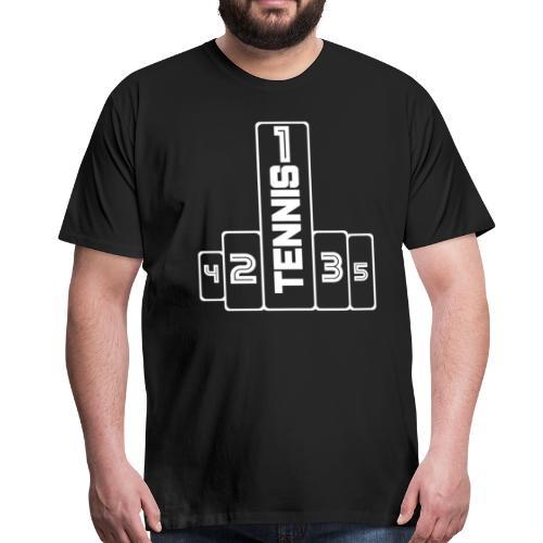 Tennis 1 - Männer Premium T-Shirt
