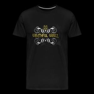 Wrathful Wirez Logo - Men's Premium T-Shirt