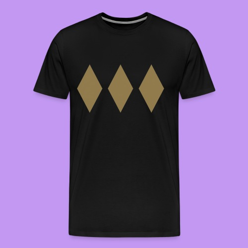 Lord Freeman 3 Lozenge Gold - Men's Premium T-Shirt