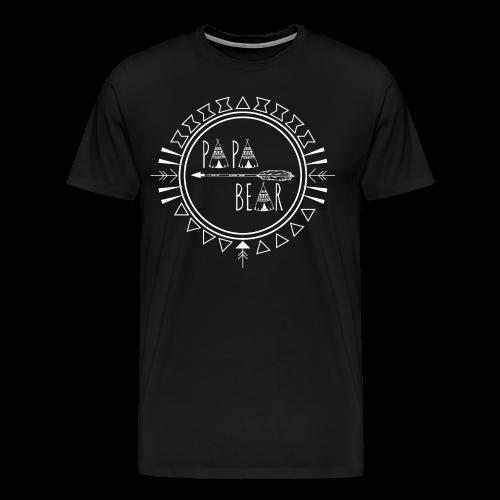 Papa Bear - Männer Premium T-Shirt