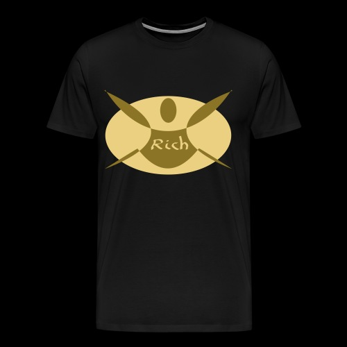 Happy Design Maenneken Rich - Männer Premium T-Shirt