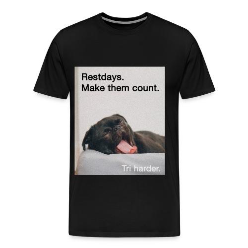 Restday Triathlon Shirt - Männer Premium T-Shirt