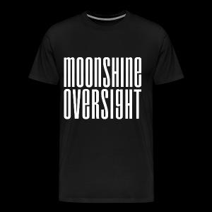 Moonshine Oversight blanc - T-shirt Premium Homme