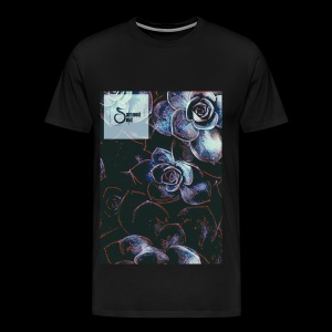 Damned soul bunch of roses design - Men's Premium T-Shirt