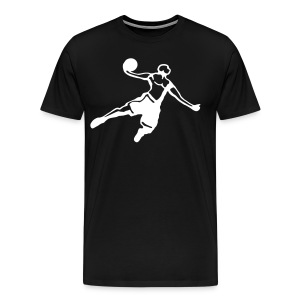Basketball Dunk Player - Männer Premium T-Shirt