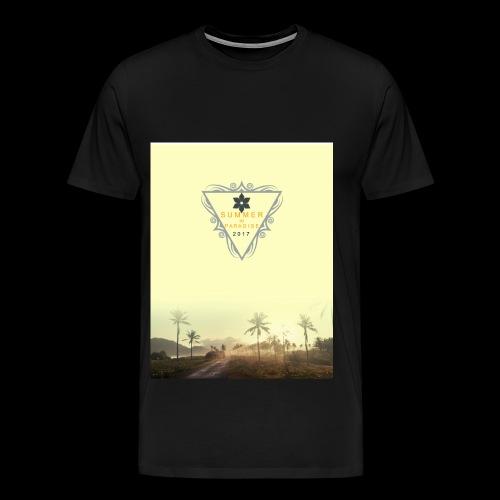 For the summer 2017 - Men's Premium T-Shirt