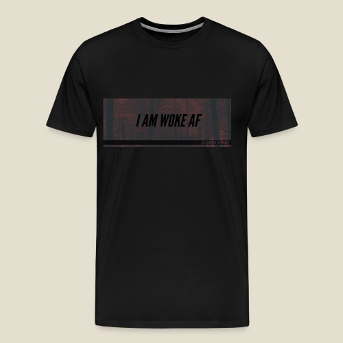 WOKE AF - Männer Premium T-Shirt