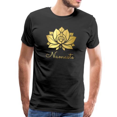 RUBINAWORLD Namaste Lotus - Men's Premium T-Shirt