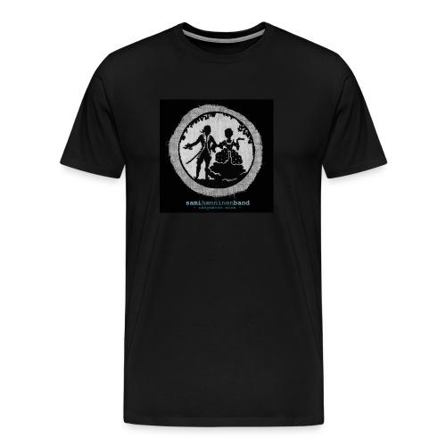 SHB - Näkymätön mies - Miesten premium t-paita
