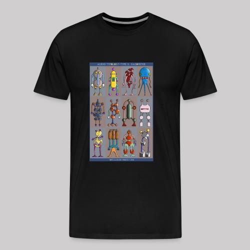 2 ALIEN TYPOLOGY GAZOMETER - T-shirt Premium Homme
