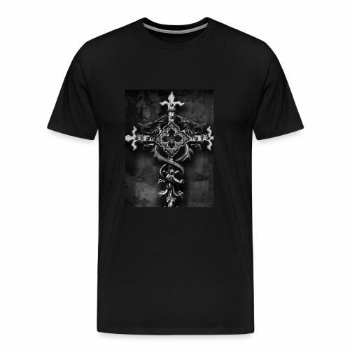 Gothic Kreuz - Männer Premium T-Shirt