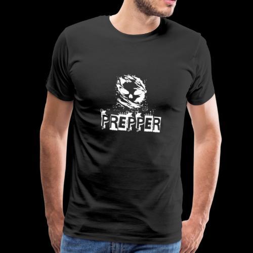 Prepper - Skull - Prepping Survival - Männer Premium T-Shirt