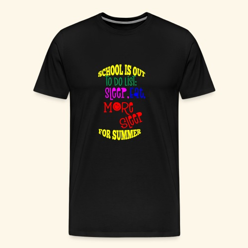Last day of school - Men's Premium T-Shirt