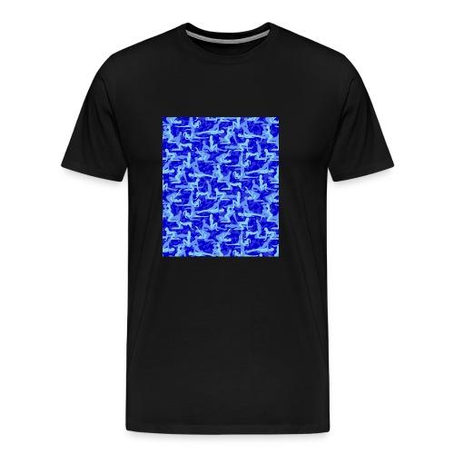 Camouflage Kamasutra Love - Männer Premium T-Shirt