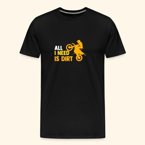 Motorradrenn-T-Shirts Motorcross - Männer Premium T-Shirt