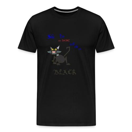 My best cat - Men's Premium T-Shirt