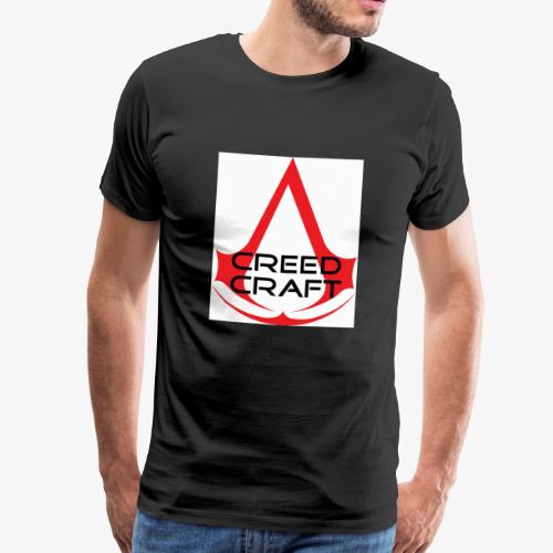 New CreedCraft logo - Men's Premium T-Shirt