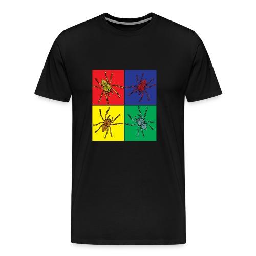 Pop Art Spinnen - Männer Premium T-Shirt