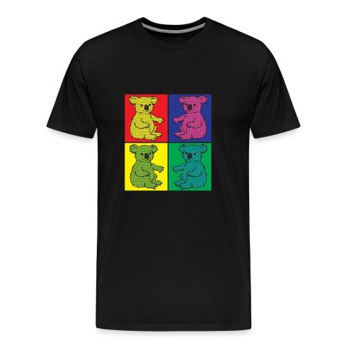 Pop Art Koala - Männer Premium T-Shirt