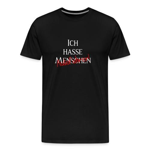 Ich hasse Menschen - Autofahrer Editon - Männer Premium T-Shirt