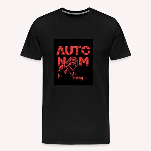 Autonom in ROT - Männer Premium T-Shirt