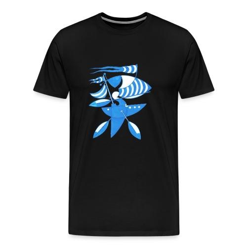Grafik Seezeichen - Männer Premium T-Shirt