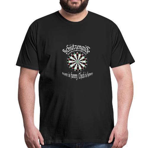 Dart Schützengilde - Männer Premium T-Shirt