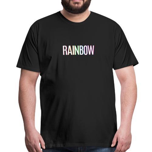 Regenbogen Rainbow - Männer Premium T-Shirt