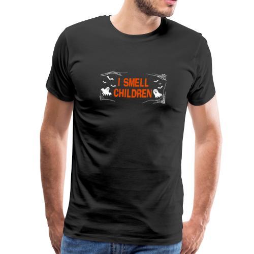 Ich rieche Kinder Halloween T-Shirt Geister - Männer Premium T-Shirt