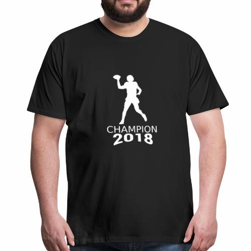American Football Champion 2018 weiß - Männer Premium T-Shirt