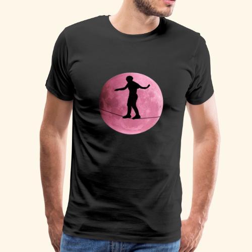 Cooles Slackline Shirt & Geschenk - Männer Premium T-Shirt
