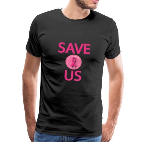 cancer t shirt couple model2 - T-shirt Premium Homme