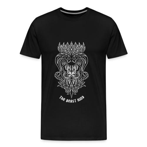 Re Bestia - Maglietta Premium da uomo