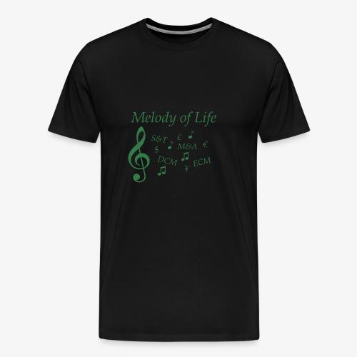 Investmentbanker - Männer Premium T-Shirt