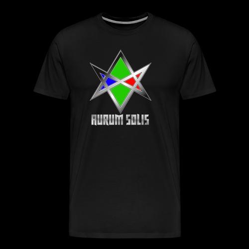 Aurum Solis – Logo - Männer Premium T-Shirt