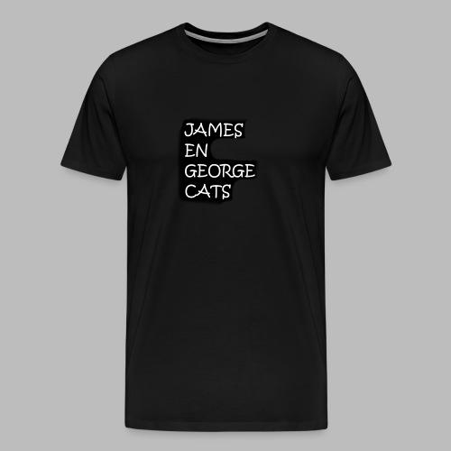 James en George (Limited Edition!) - Mannen Premium T-shirt