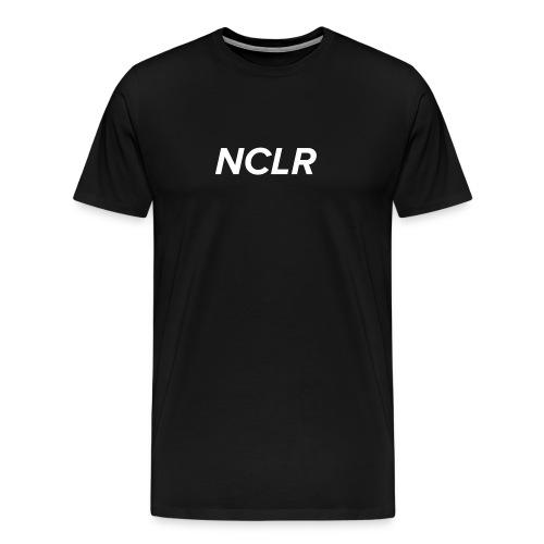 nclr white on black - Mannen Premium T-shirt