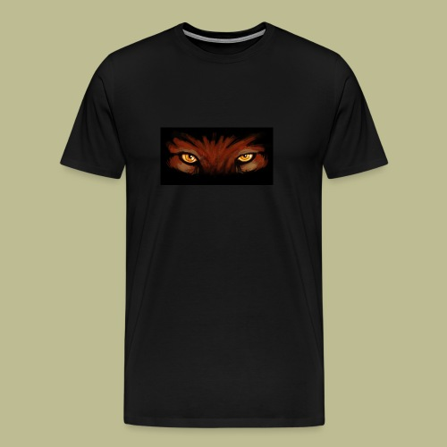 Taekwondo Tigers Augen - Männer Premium T-Shirt