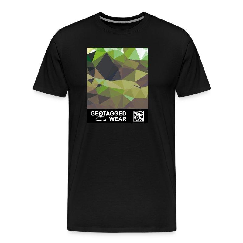 Camouflage Woodland II - Muskoka Collection 1708 - Männer Premium T-Shirt