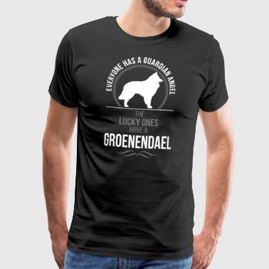 Groenendael Guardian Angel Wilsigns - Premium-T-shirt herr