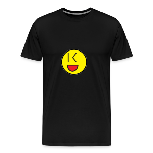 Cool Wink Smiley Hoodie - Men's Premium T-Shirt