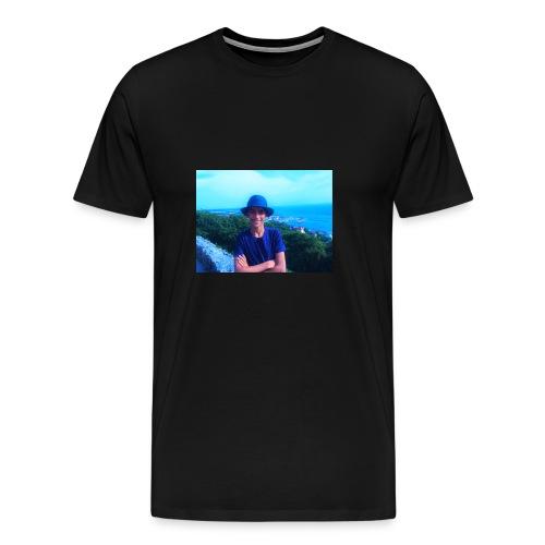 badr_saber - Premium-T-shirt herr