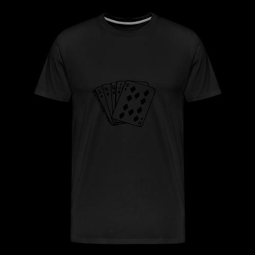 Royal Flush - Männer Premium T-Shirt