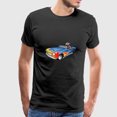 Acheter chien dans un cabriolet comme un cadeau. - T-shirt Premium Homme
