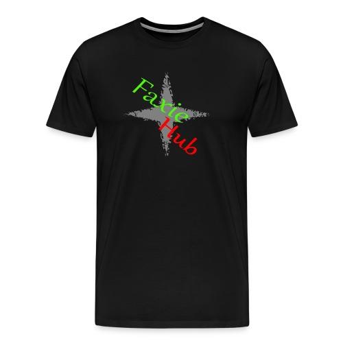 FaxieHub - Herre premium T-shirt