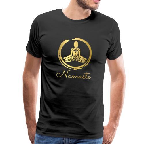 RUBINAWORLD Yoga Buddha - Men's Premium T-Shirt
