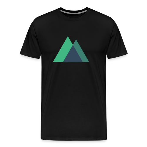 Mountain Logo - Men's Premium T-Shirt