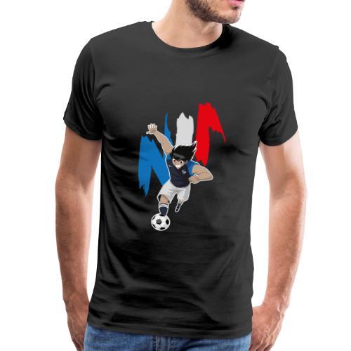 HYUGA FRANCE - COUPE DU MONDE - RUSSIE 2018 - T-shirt Premium Homme