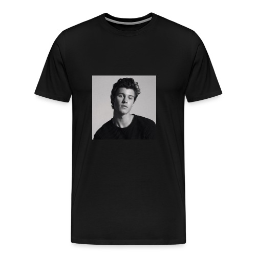 Shawn Mendes kopje - Mannen Premium T-shirt