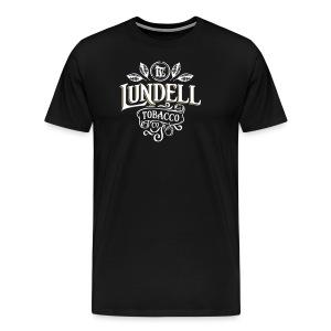 LUNDELL TOBACCO LOGO With Shadow - Premium-T-shirt herr